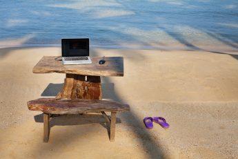 beach computer